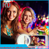 High Quality Portable Selfie Flash LED Phone Camera Ring Fill Light