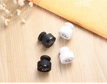 2017 Fashion Stereo dual bluetooth headset in ear earphones wireless sport wireless earphone bluetooth
