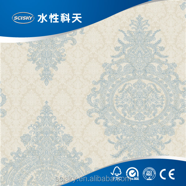 Islamic Church Wallpaper Murals for Arabic Countries China OEM Factory Wallpaper Production Line
