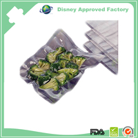Durable Clear plastic food saver vacuum plastic bag for pickles