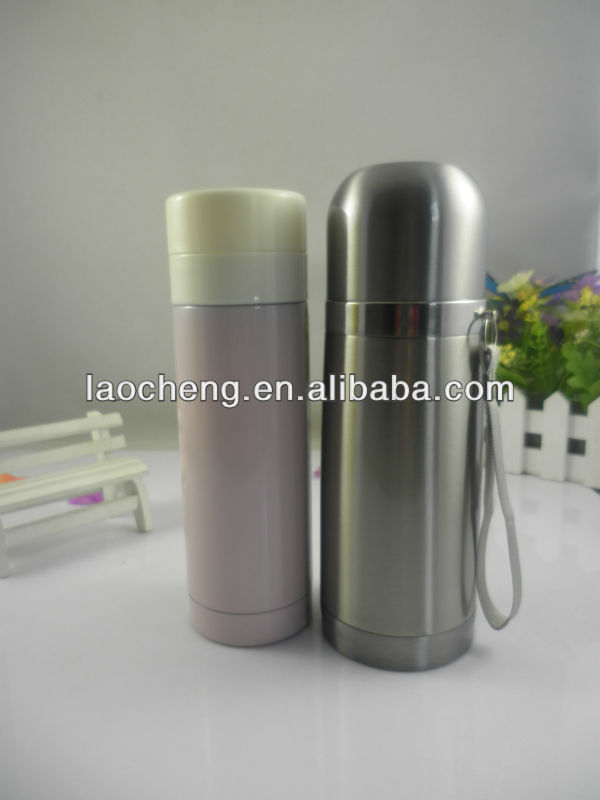 18 /8 good quality stainless steel vacuum flask keeps drinks hot and cold for 24 hour