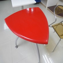 High quality heart-shaped composite stone coffee table