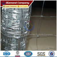Hot sale Brazil/Australia/New zealand/Argentina cheap galvanized outdoor field fence
