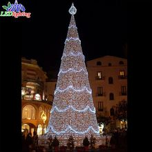 5-50m giant outdoor big pvc artificial giant christmas tree light