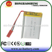 603450 3.7v 1100mah li-polymer battery for Digital Products, Camera, MP3, MP4, MP5, DVD, Booth headphones, security system