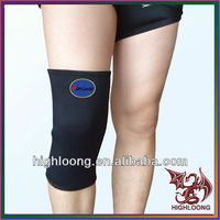 Sport performance adjustable waterproof neoprene knee support as seen on tv