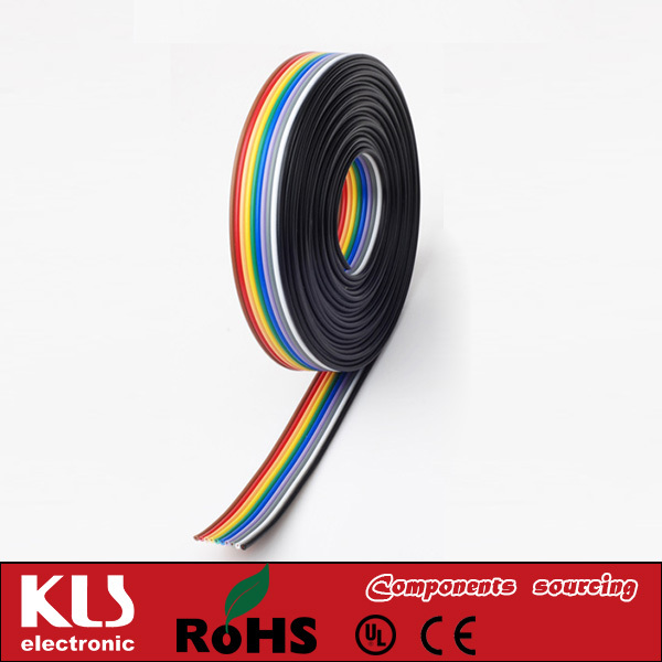 Good quality 2.54mm ribbon flat cable UL CE ROHS 295 KLS Brand