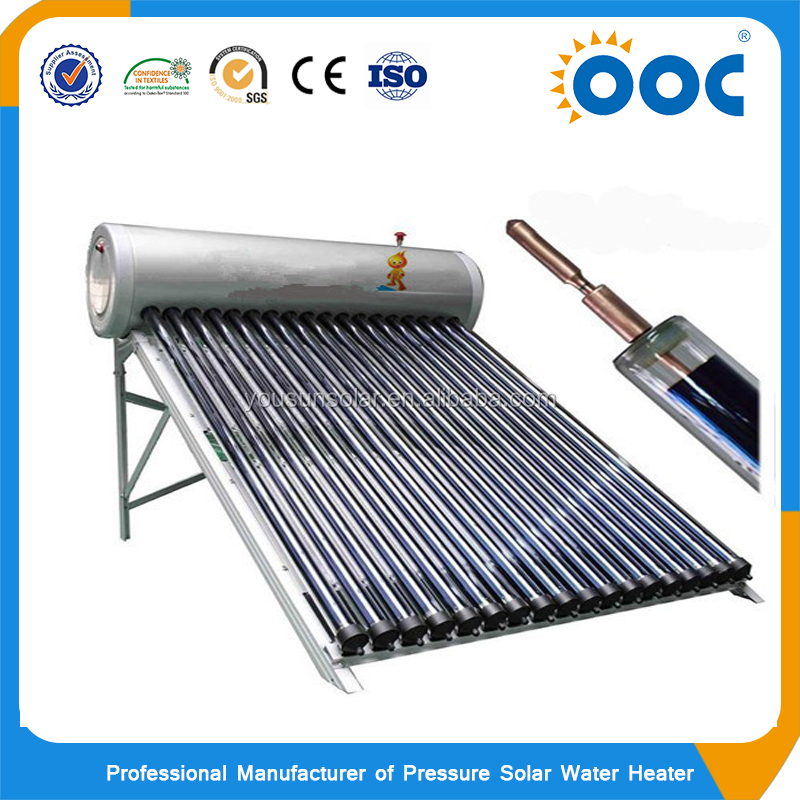 Good quality 150 liters high pressurized solar powered livestock water heater