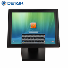 "15"" inch VGA USB RS232 TFT LCD Touch Screen Monitor with POS base"