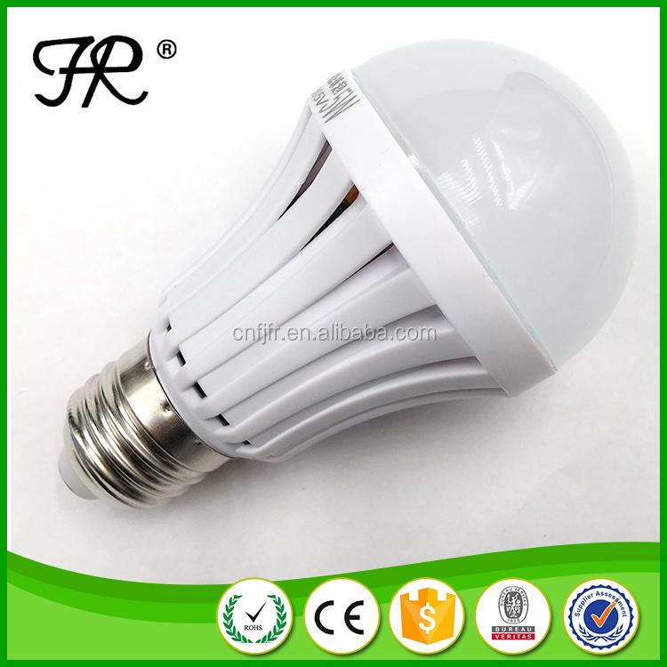 E27 LED Light 5w 7w White Emergency LED Bulb for Corridor/Warehouse