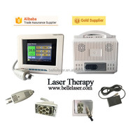 Muscular injury laser therapy equipment for pain relief