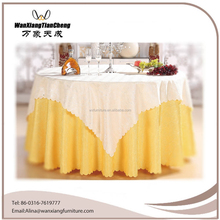 Factory wholesale Cheap Lace Table Cloth Round decorative table cover