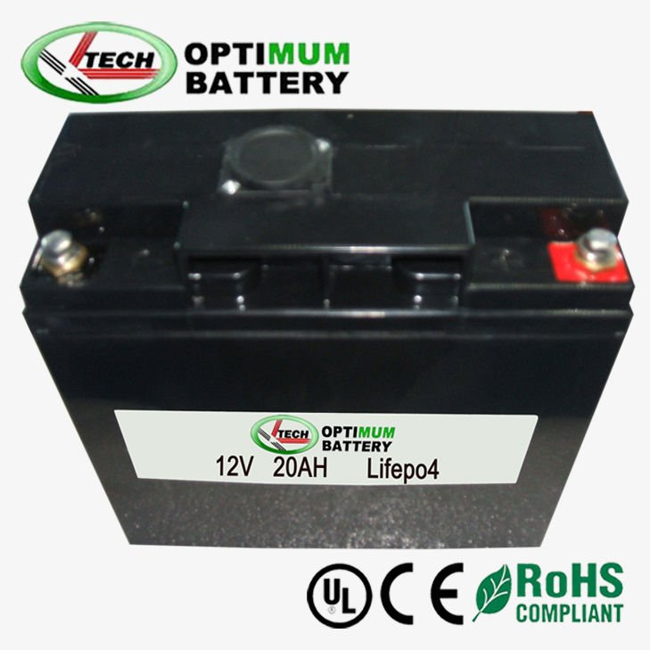 12V 20Ah snowmobile start battery