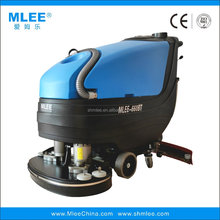 MLEE660BT commercial rolling gym mall truck brushing smart rotary wet dry floor scrubber machine