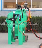 Double wheels DB500 water dustless blasting equipment for sale