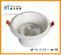 High quality round 12w 20w 30w COB led downlight