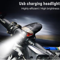 USB Rechargeable Bike Light Set LED