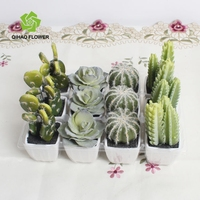 factory garden decoration direct mini artificial flower bonsai