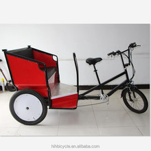 Three wheels electric rickshaw e-rickshaw battery operated green energy bike taxi for sale