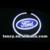 Car Door LED Welcome Light, LED Ghost Shadow Light, LED Laser Lamp with 3D Car Logo For FORD (KF-3D-LO)