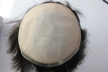 Best quality invisible injected silk base women hair toupee