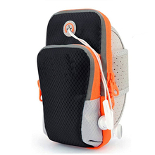 Sports Armband Double Pockets Multifunctional Outdoor Arm Bag for Phone
