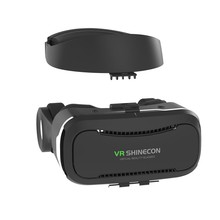 Newest VR Shinecon 4.0 Google cardboard VR BOX with Headphone VR Virtual Reality 3D Glasses PK BOBO VR Z4 vr glasses