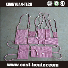 CE Approved ceramic heater pad for post welding heat treatment