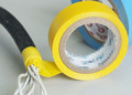 Wholesales high quality pvc tape waterproof/ white pvc reflective insulation electrical tape