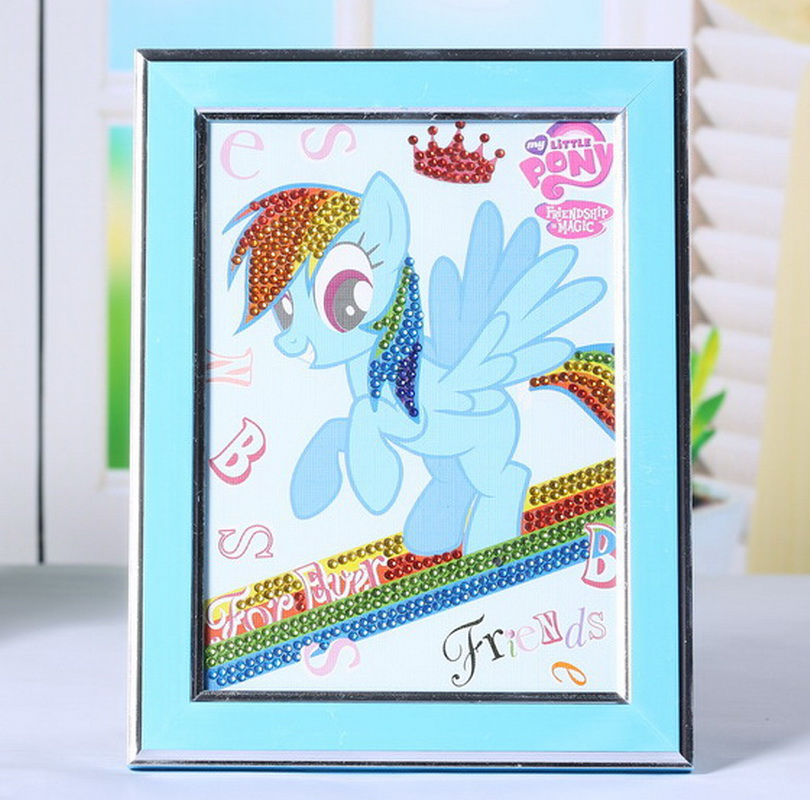 Horse photo 5d diamond painting Yiwu factory