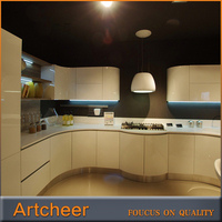 high gloss Lacquer kitchen cupboards modern kitchen cabinet door design kitchen cabinet vinyl wrap