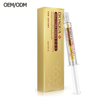 ODM OEM BIOAQUA Moisturizing Hyaluronic Acid Essence 24k Gold Skin Care