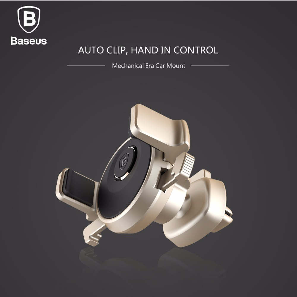 Codak /Baseus Universal Car Phone Holder 360 Rotation Cold Air Vent Car Mount for width phone 7 or 57-84mm