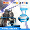 Roller coaster vibrating VR simulator with full viewing VR movies