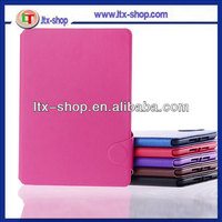 for tablet mini flip case leather with adjustable stand,mini PC case with stylus holder,mini leather case with factory price