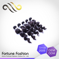 Professional producer sale dye any color loose weave natural Peruvian human hair extention