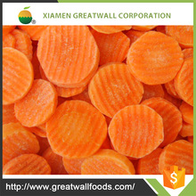 Good quality superior bulk delicious frozen carrot on sale