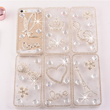 2015 Newest Unique Fantastic Case for Mobile Phone With Diamond,Fashion Rhinestone Crystal Mobile Case
