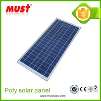 2016 100w poly pv panel/panel price poly 100w solar module most efficient solar energy panel