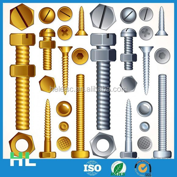 China manufacturer high quality decorative screws and nuts