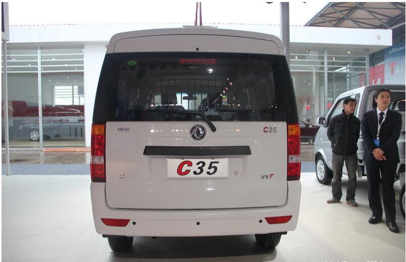 China 7 seats dfm mini cargo van C35