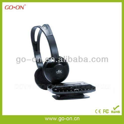 Infrared wireless headset for tv with fashional design