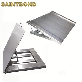 Top selling LCD floor stainless steel washable platform scale Portable beams Bar digital weighing scales