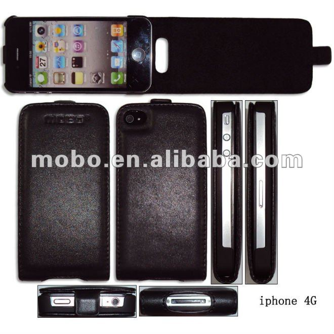 Case for iPhone 4 / 4S, Leather case for iPhone 4 / 4S, Housing for iPhone 4 / 4S