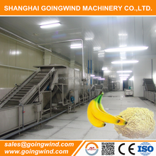 Automatic plantain flour processing machine banana flour processing machine turnkey production line good price for sale