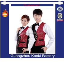 Popular design uniform for bellboy uniform for hotel