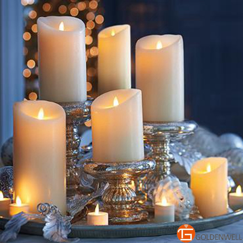 Wedding Favors Candles Luminara Candles with On/off Switch for Easy & Convenient Operation