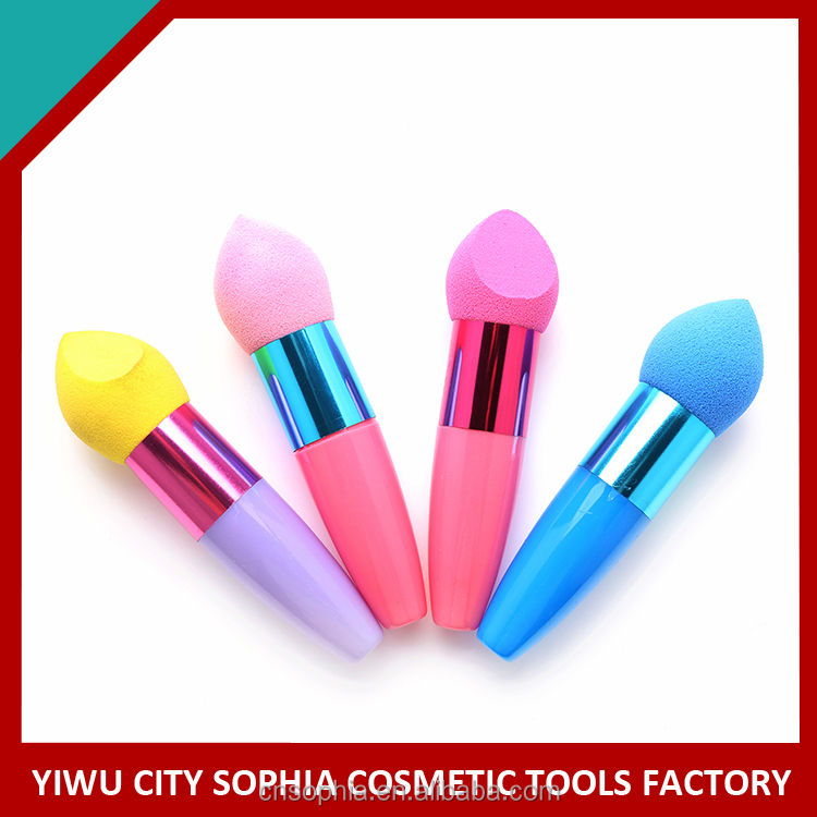 Factory supplier newest excellent quality make up puff fast shipping