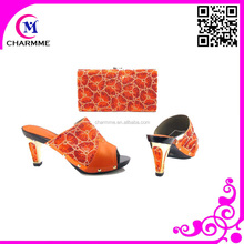 dress shoes and matching bags with orange shoes and bag to match CSB 741 for matching shoe and bag set