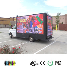 Ph10 Outdoor Mobile LED Screen Trailer With Mobile Display Lifting Systems,Motorcycle Advertising Trailer
